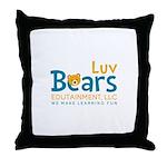 Luv Bears Edutainment Throw Pillow