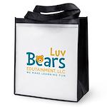 Luv Bears Edutainment Reusable Grocery Tote Bag