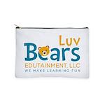 Luv Bears Edutainment Makeup Bag