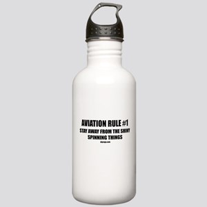 AVIATION RULE #1 Stainless Water Bottle 1.0L