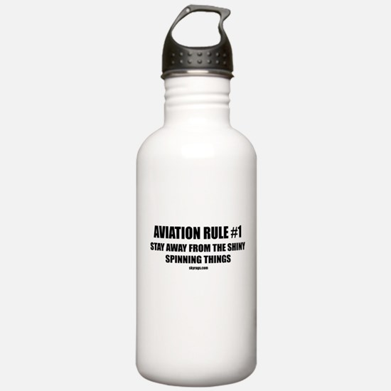 AVIATION RULE #1 Water Bottle