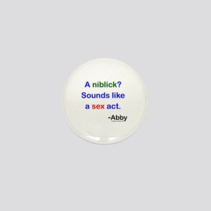A Niblick?? Mini Button