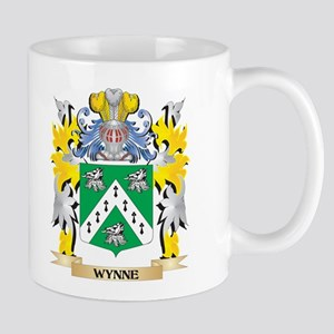 Wynne Family Crest - Coat of Arms Mugs
