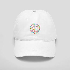 Peace Love St. Bernards Cap