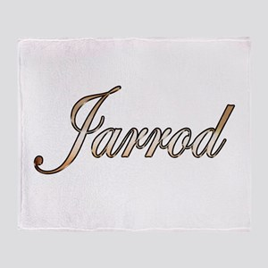 Gold Jarrod Throw Blanket