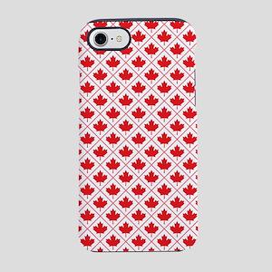 Canadian Maple Leaf Diamond Pattern iPhone 7 Tough