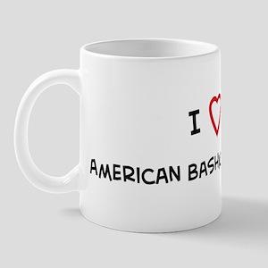I Love American Bashkir Curly Mug