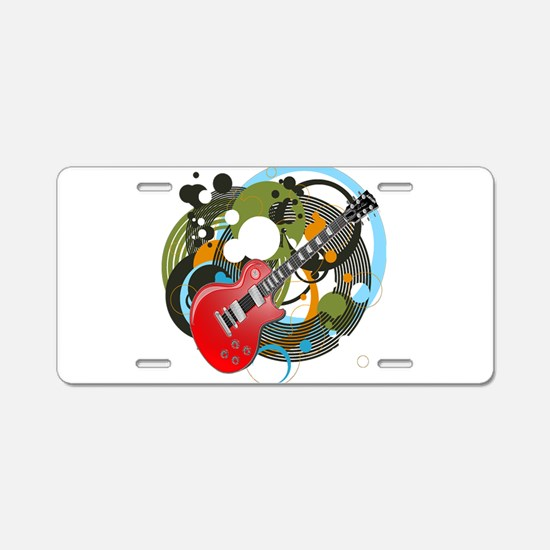 Les Paul Aluminum License Plate