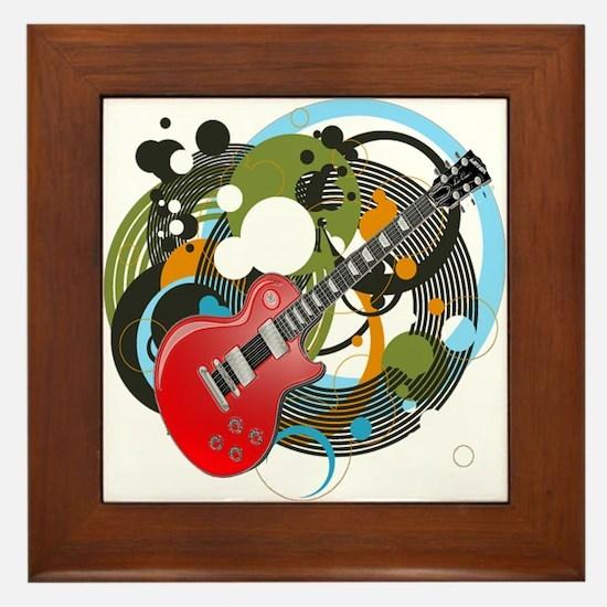 Les Paul Framed Tile
