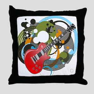 Les Paul Throw Pillow