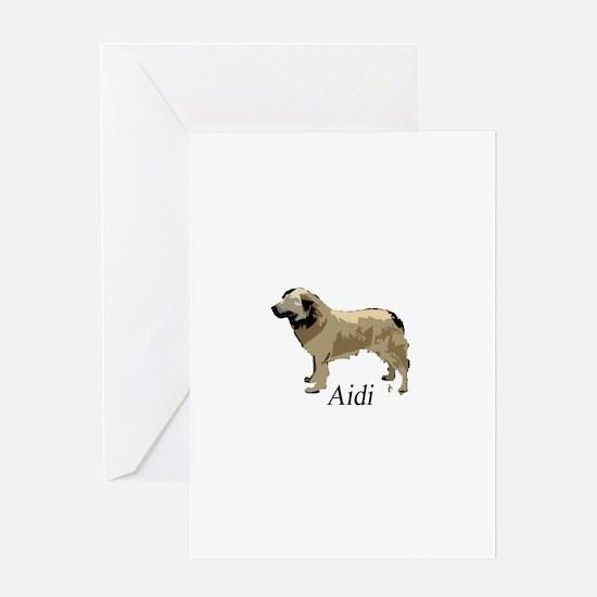 Cute Aidi Greeting Card