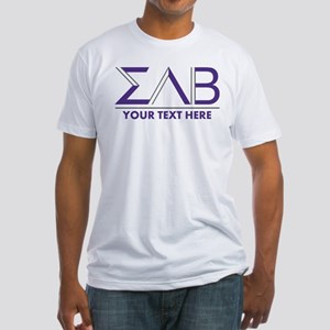 Sigma Lambda Beta Letters Personali Fitted T-Shirt