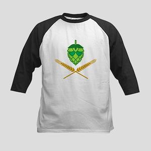 Pirate Hops Kids Baseball Jersey