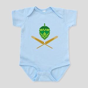 Pirate Hops Infant Bodysuit