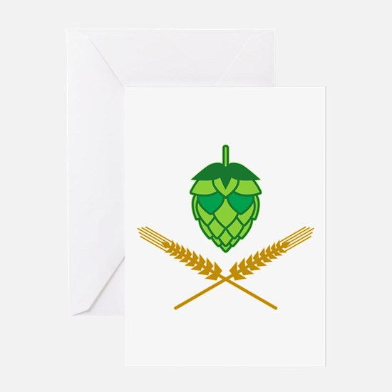 Pirate Hops Greeting Card