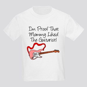 Proof Mommy Liked Guitarist P Kids Light T-Shirt