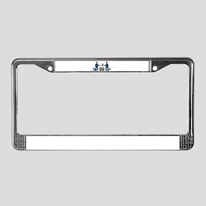 Bright Future License Plate Frame