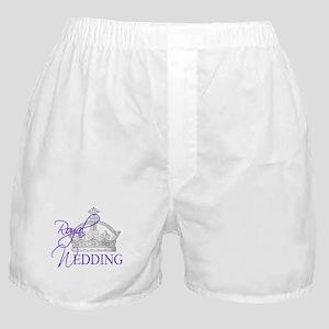 Royal Wedding London England Boxer Shorts