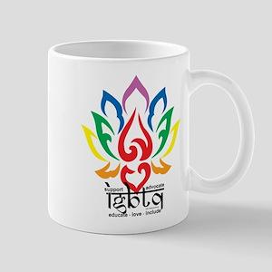 LGBTQ Lotus Flower Mug