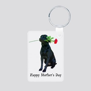 mother's day Aluminum Photo Keychain
