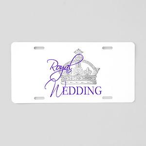 Royal Wedding London England Aluminum License Plat
