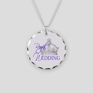 Royal Wedding London England Necklace Circle Charm