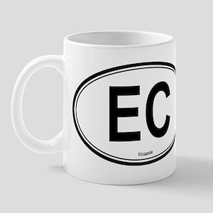 Ecuador (EC) euro Mug