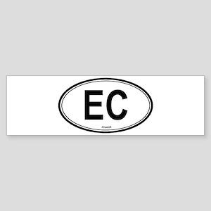 Ecuador (EC) euro Bumper Sticker