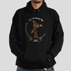 Brindle Greyhound IAAM Hoodie (dark)