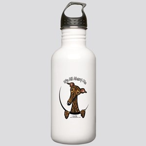 Brindle Greyhound IAAM Stainless Water Bottle 1.0L