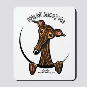 Brindle Greyhound IAAM Mousepad