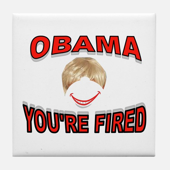 FIRED IN 2012 Tile Coaster