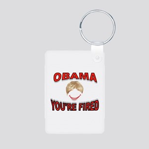 FIRED IN 2012 Aluminum Photo Keychain