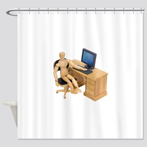 ReadyToWork112409 Shower Curtain