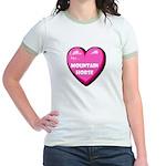 I Love My Mountain Horse Jr. Ringer T-Shirt