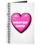 I Love My Mountain Horse Journal
