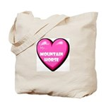 I Love My Mountain Horse Tote Bag