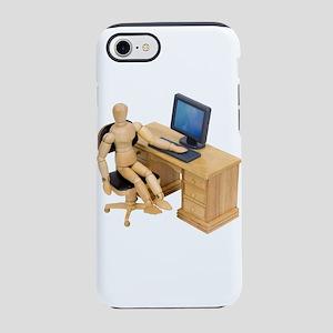 ReadyToWork112409 iPhone 7 Tough Case