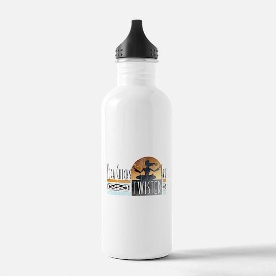 yoga chicks Water Bottle