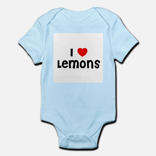 I * Lemons Infant Creeper