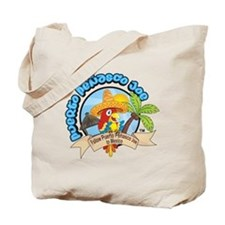 Mexican Parrot Beach Tote
