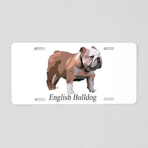 Bulldogs Aluminum License Plates - CafePress