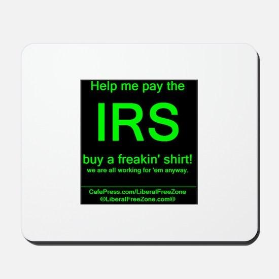 IRS dark Mousepad