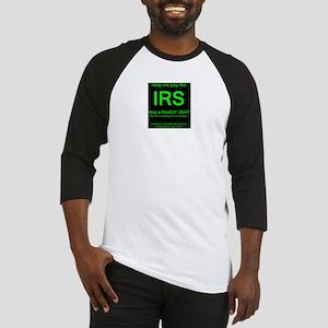 IRS dark Baseball Jersey