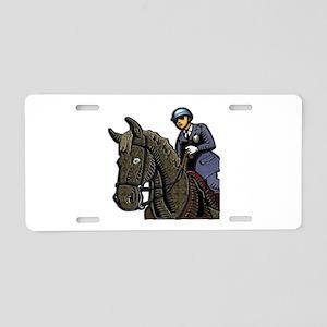 Mounted Policemen Aluminum License Plate