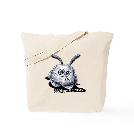 Dust Bunny Portrait Tote Bag