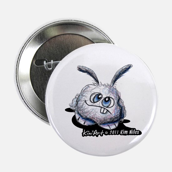 "Dust Bunny Portrait 2.25"" Button"
