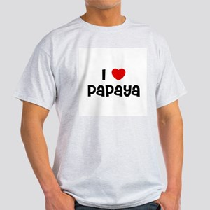 I * Papaya Ash Grey T-Shirt