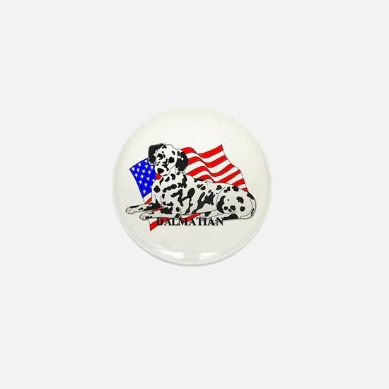 Dalmatian USA Mini Button