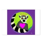 lemur Postcards (Package of 8)